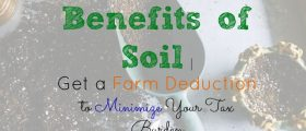 Benefits of Soil, farm reduction, tax burden