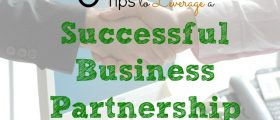 Successful Business Partnership , business partner