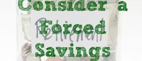 Financial Discipline,forces savings