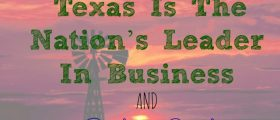 Texas Is The Nation's Leader