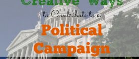 political campaign, contributing to a campaign