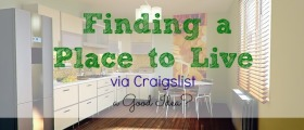 finding a place to live, apartment hunting, house hunting, renting, craigslist searching
