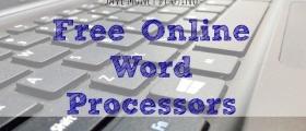 free word processor, free online word processor