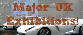 Major UK Exhibitions, expos, expo, exhibition, car exhibition, bridal exhibition, collection items