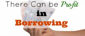 profit in borrowing, investment profit, loaning, loan investment