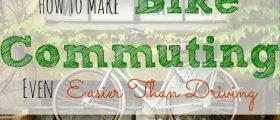 biking to work, bike commuting, alternative to driving