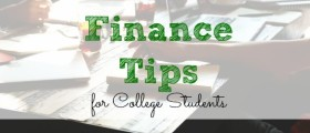 personal finance tips, college students, getting through college