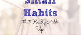small habits, frugal ways to save, save money in the long run