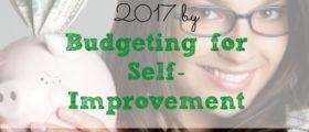 budgeting for self-improvement, saving money tips, saving money techniques