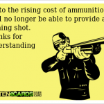 Ammunition: The New American Currency