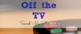 TV Saved My Finances, saving money