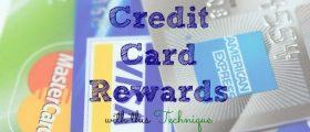 Credit Card Rewards, credit card