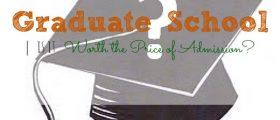 The Price Of Admission, graduate school