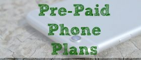 Pre-Paid Phone Plans, cellphone
