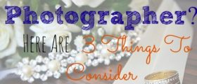 Hiring A Wedding Photographer?