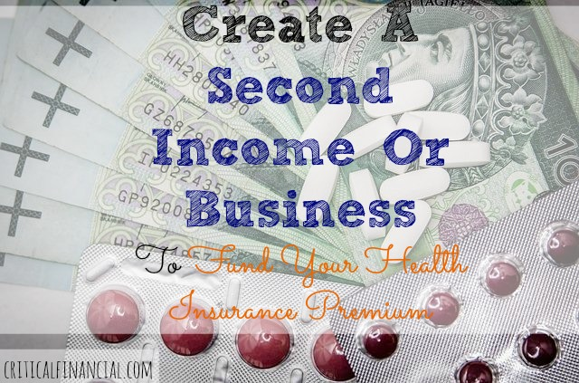 how to create a second income