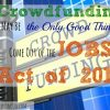 crowd funding, JOBS Act 2012