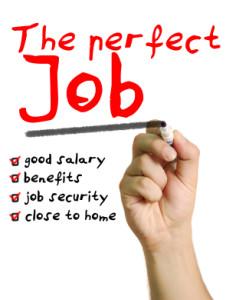 The perfect job