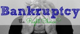 is bankruptcy the right choice?