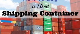 How to Buy a Used Shipping Container, buy a used shipping container, shipping container