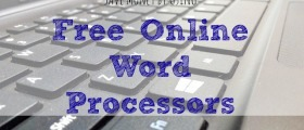 free word processor, free online word processor