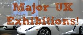 Major UK Exhibitions, expos, expo, exhibition, car exhibition, bridal exhibition, collection items