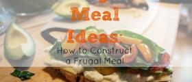 frugal meals, frugal cooking, frugal recipes
