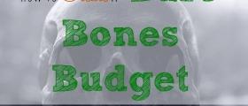 bare bones budget, budgeting, money matters
