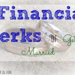 perks of marriage, getting married, financial perks