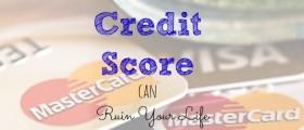 bad credit score, effects of a bad credit score, credit score advice