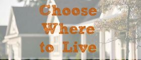 where to live, where to stay, living options