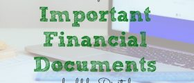 financial tips, financial documents, digital documenting