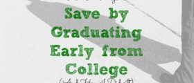graduating early, saving money tips, early college graduation advice