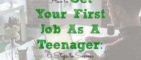 first job tips, working as a teenager, teenager first job tips