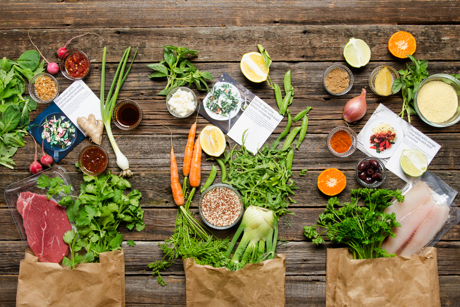 Meal kit companies offering discounts to new customers -- there are nine of them right now.