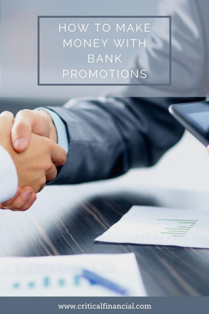 How to Make Money with Bank Promotions