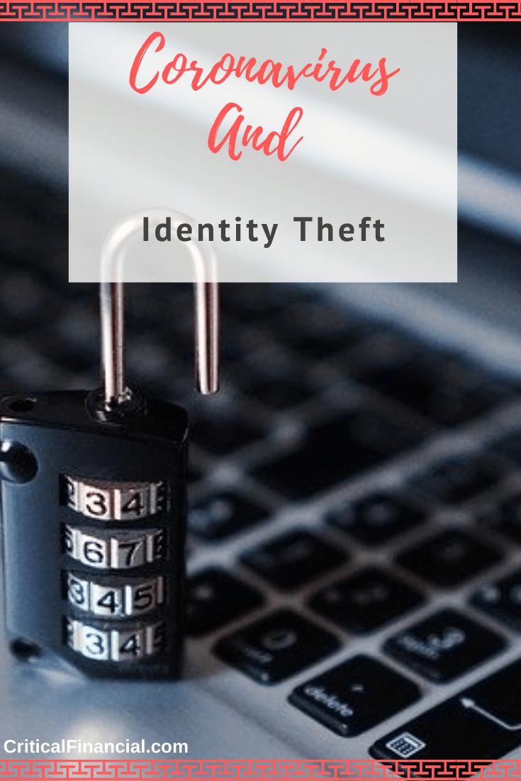 Coronavirus and Identity Theft