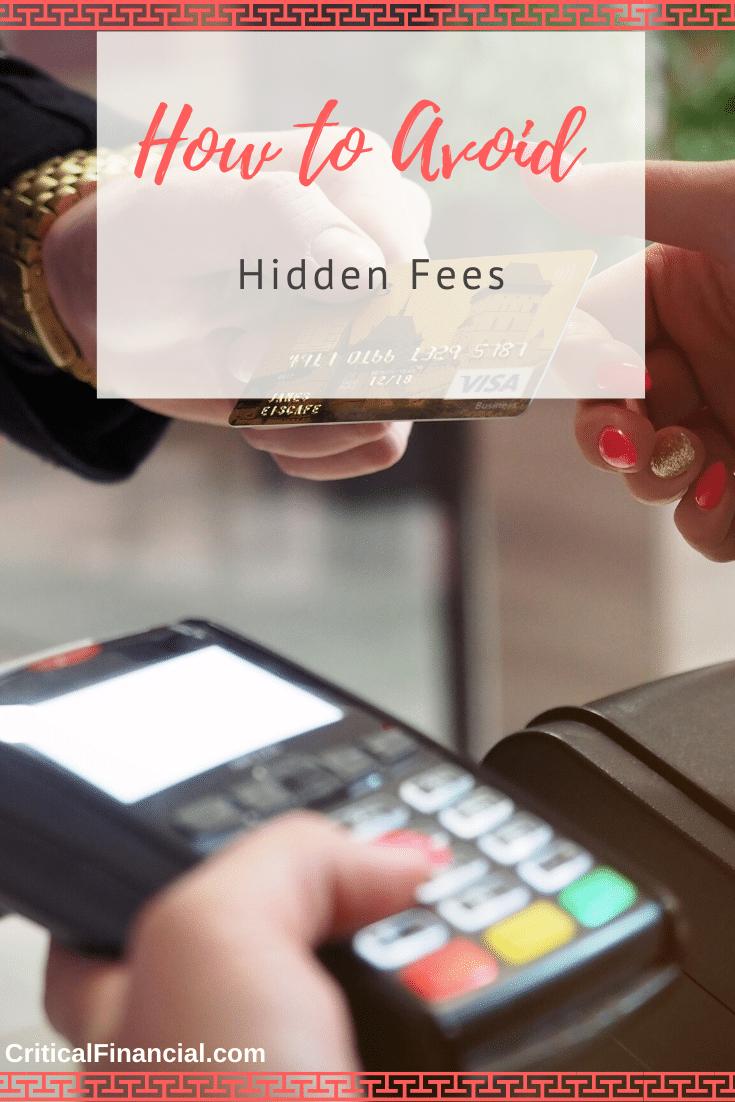 How to Avoid Hidden Fees